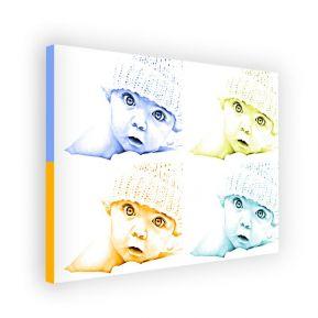 Tela orizzontale monochrome 4 foto