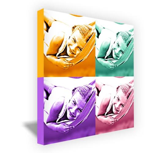 Tela quadrata monochrome 4 foto