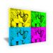 Tela personalizzata pop art moderna