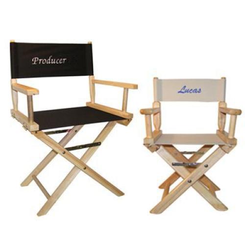 Tele aggiuntive personalizzate sedie regista