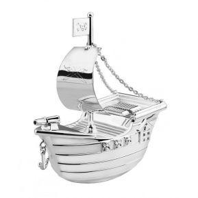 Salvadanaio nave pirata personalizzato