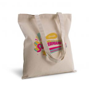 Borsa di tela shopper Supermamma