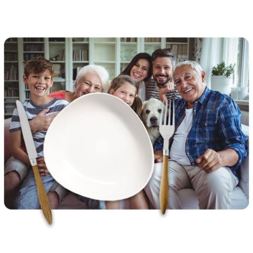 Tovaglietta tavola con foto personalizzata