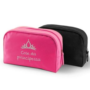 Trousse da bagno beauty ricamato