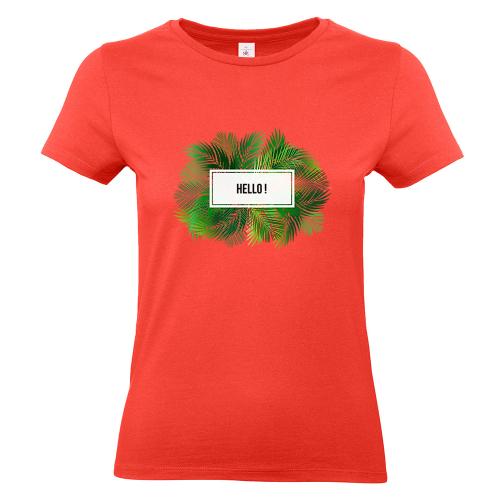 T-shirt donna palme