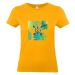 T-shirt donna Caledonia personalizzabile