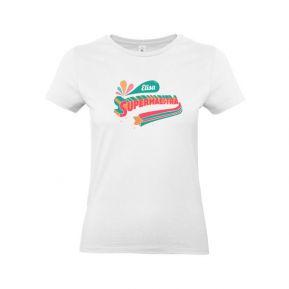 T-shirt da donna personalizzata SuperMaestra