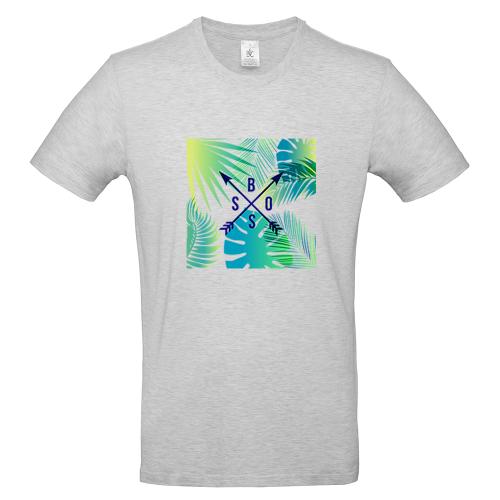 T-shirt uomo personalizzata lettere Caledonia
