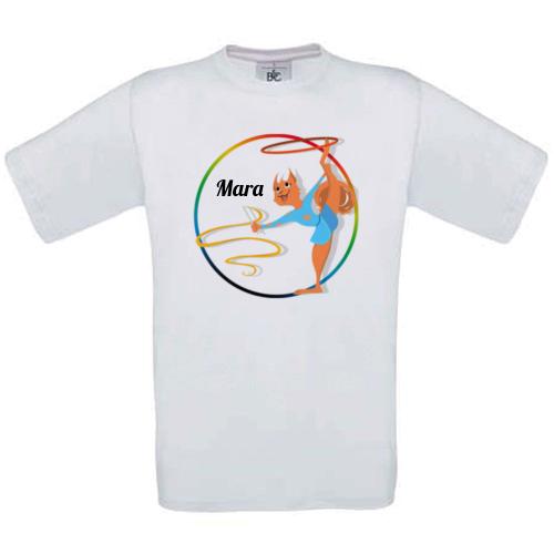 Maglietta con stemma sport e nome