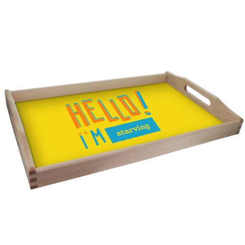 Vassoio Hello personalizzabile