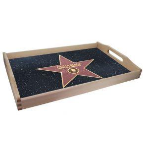 Vassoio personalizzato stella Walk of Fame