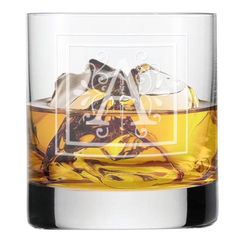 Bicchiere con iniziale personalizzata lake