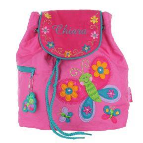 Zainetto personalizzato Farfalla rosa