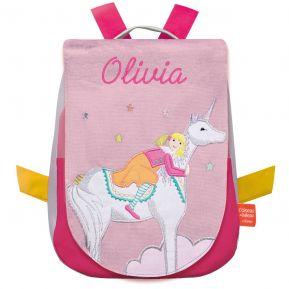 Zainetto personalizzato Unicorno fantastico