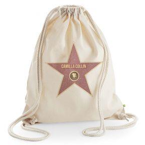 Zainetto stella Walk of Fame personalizzato