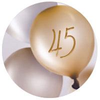 Regalo di compleanno per una donna di 45 anni