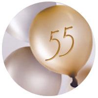 Regalo di compleanno per una donna di 55 anni