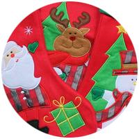 calze e cappelli natalizi