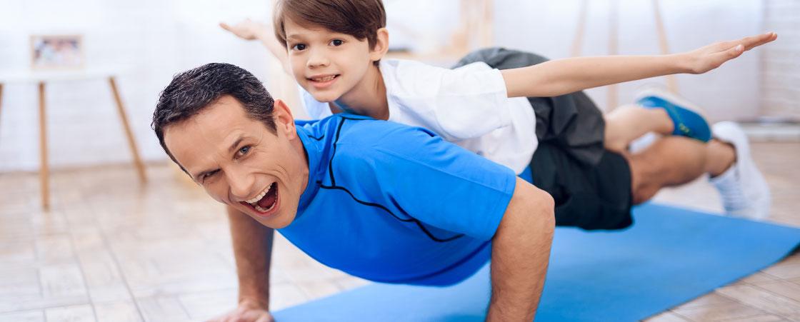 Regali divertenti per un papà sportivo