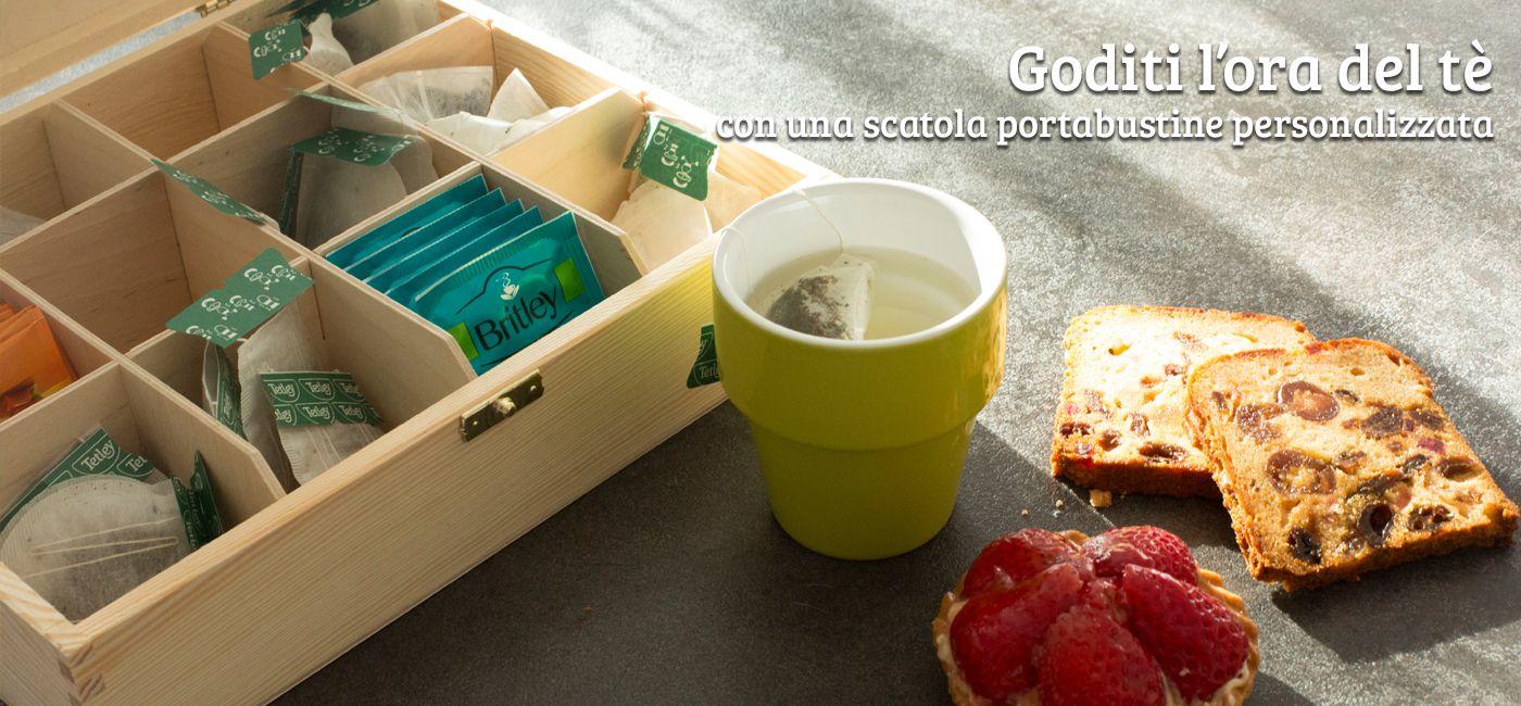 Tea break personalizzato