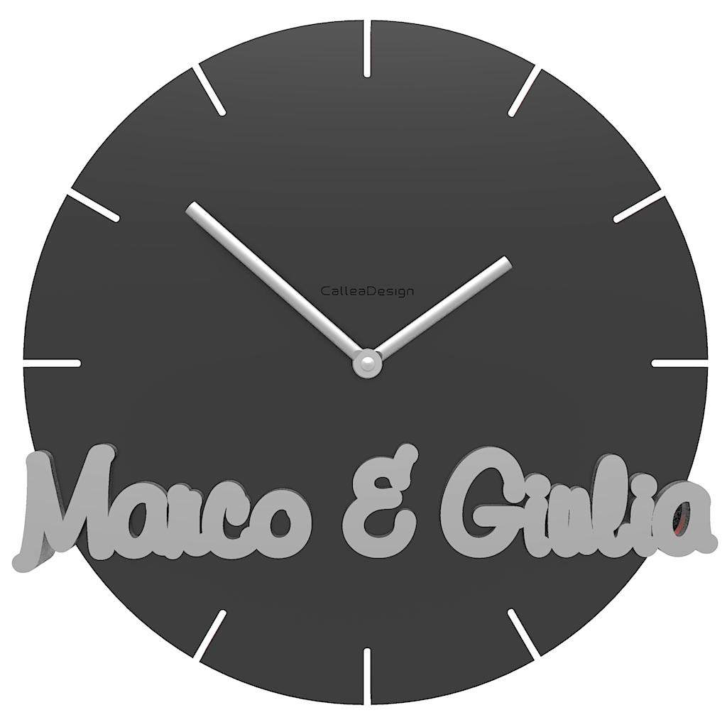 Orologio da parete tondo personalizzato idee regalo for Idee per orologio da parete