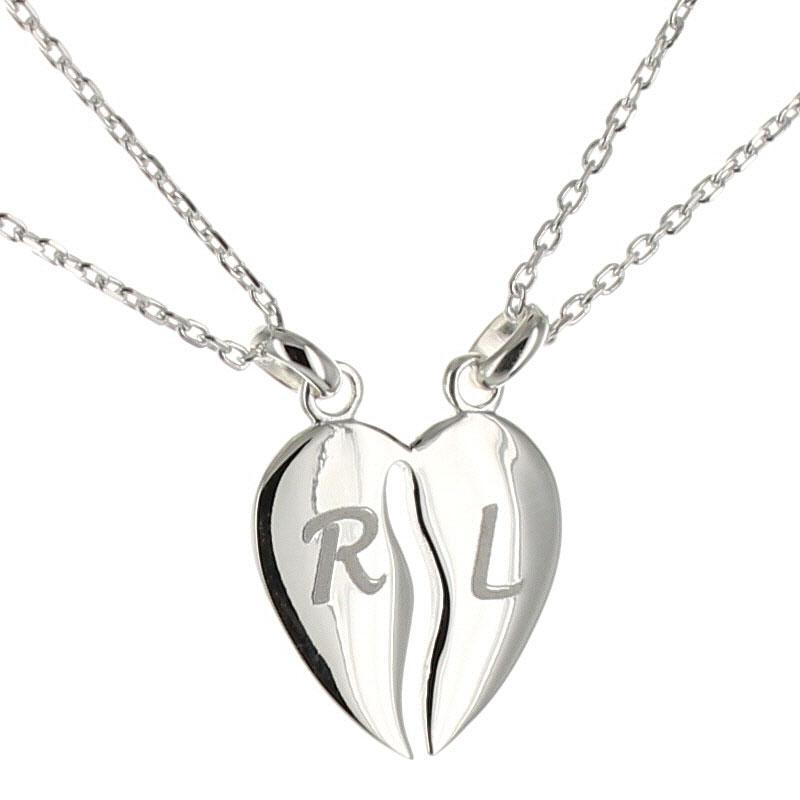 Collana cuore divisibile idea regalo originale for Regali per anniversario di matrimonio