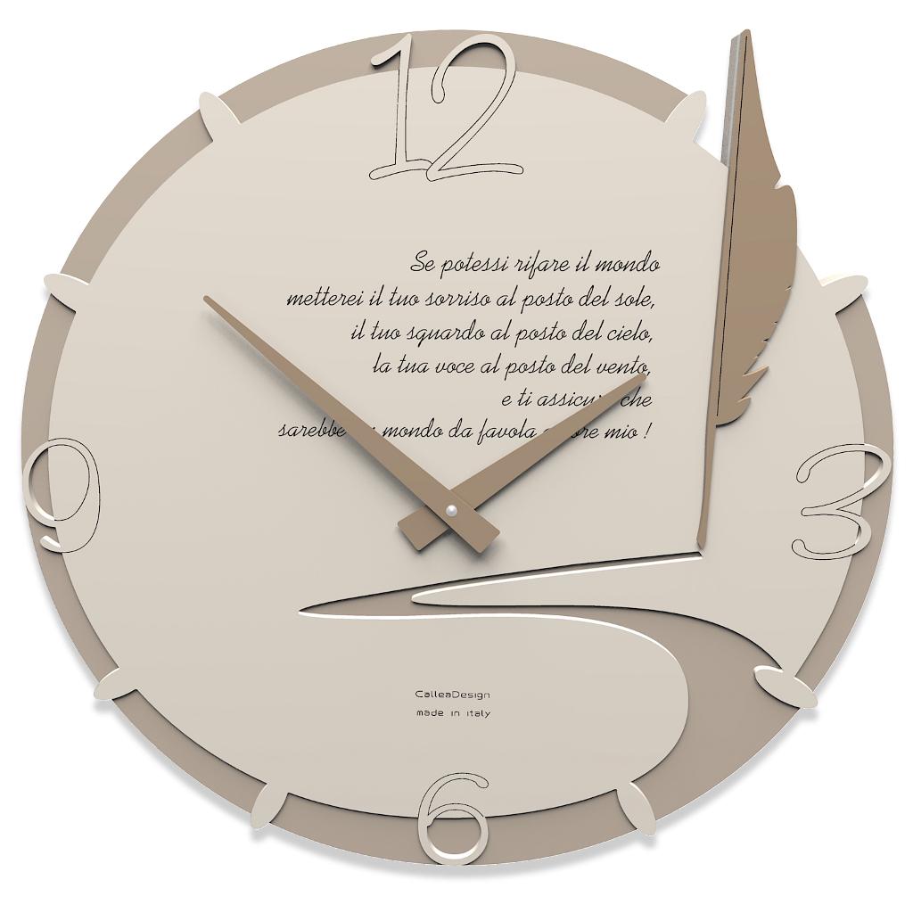 Orologio da parete tondo personalizzabile idea regalo - Orologi componibili da parete ...