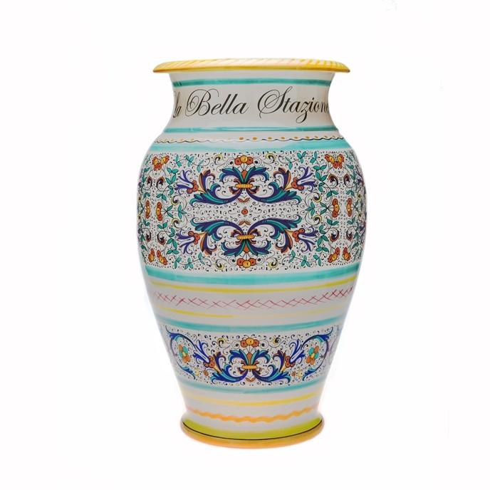 Portaombrelli in ceramica personalizzato idea regalo - Portaombrelli design originale ...
