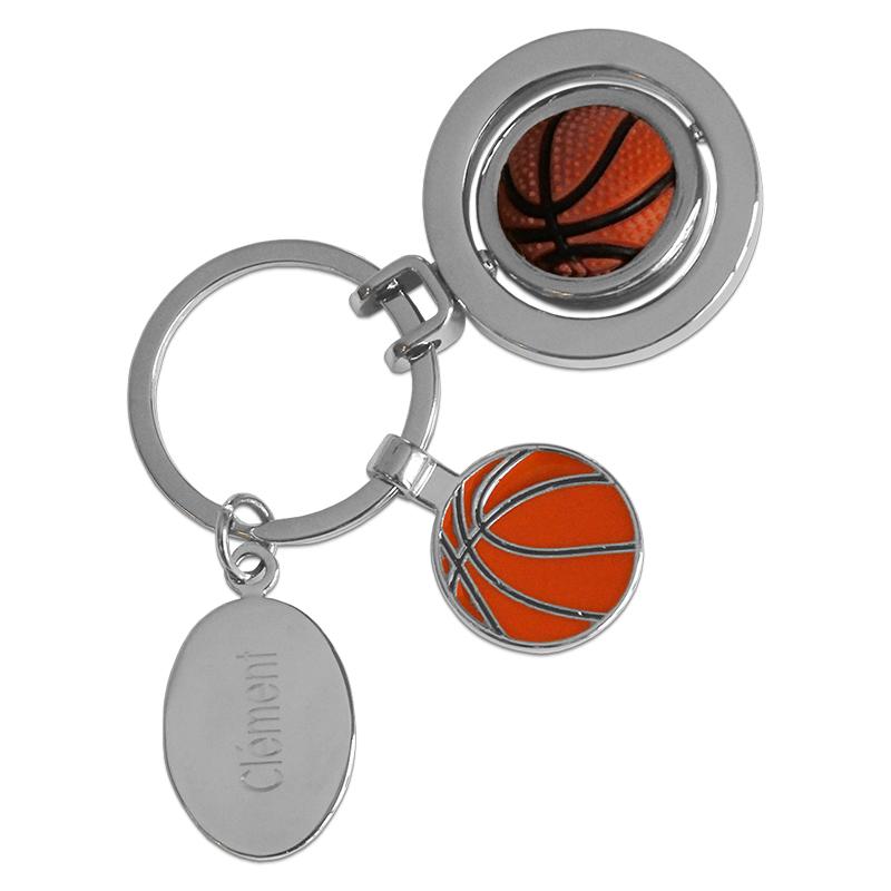 portachiavi palla da basket inciso idee regalo originale. Black Bedroom Furniture Sets. Home Design Ideas
