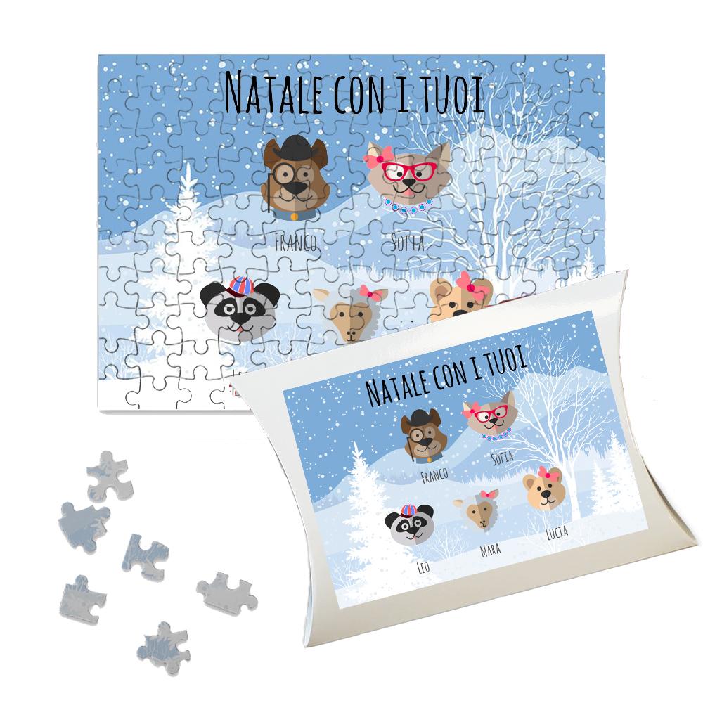 Puzzle personalizzato famiglia Nimaletti