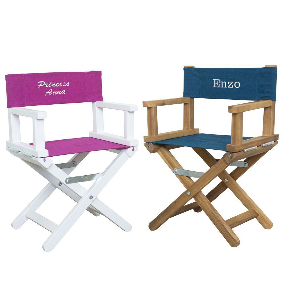 Sedia da regista babystar personalizzata (da 1 a 5 anni) idea regalo originale   AngolodelRegalo