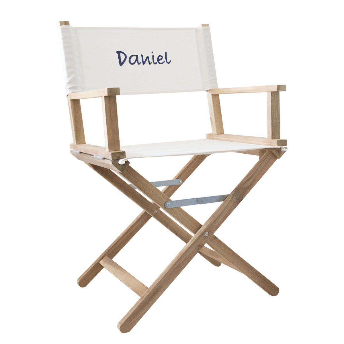 Sedia da regista personalizzata