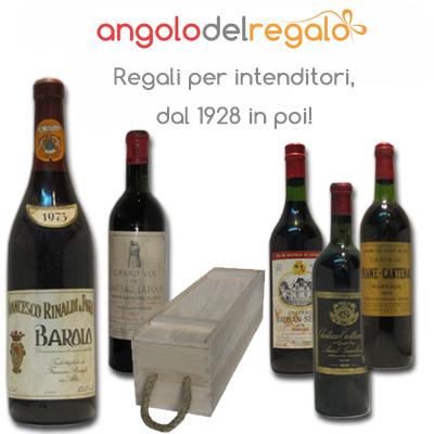 Vino storico - idee regalo originale  AngolodelRegalo
