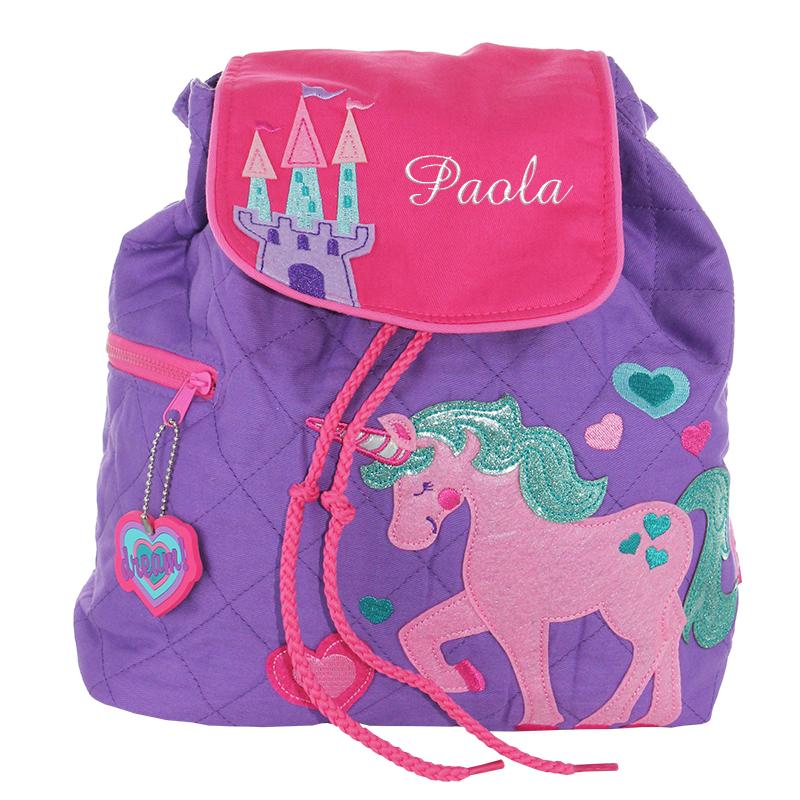 297deec173 Zainetto personalizzato Unicorno - idea regalo originale ...